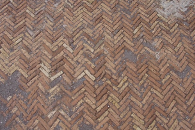 Herringbone flooring image from Hadrian villa
